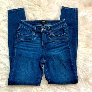 Paige Hoxton Ultra Skinny Medium Wash Denim Jeans